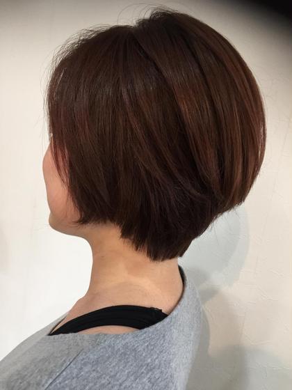 ベリピンクのショートボブ R's hair所属・福田竜士のスタイル