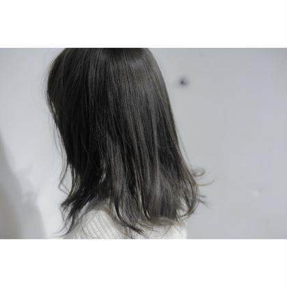 グレージュセミロング Hair design Noel所属・NoelTojoのスタイル