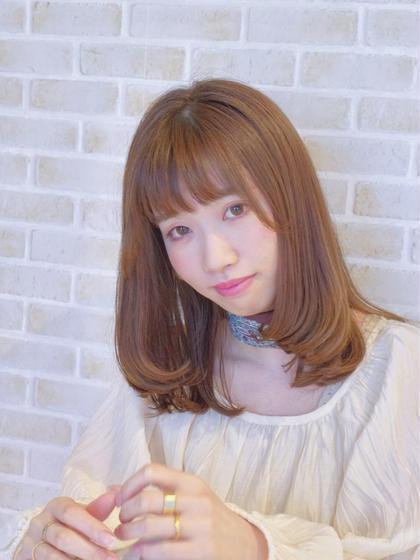 juno hair&eyelash あざみ野所属の沖塩京子のヘアカタログ