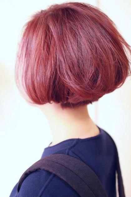 上品で大人なフォルムのショートボブ hairdresserVius所属・ViUshamaのスタイル