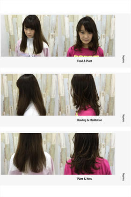 軽さを出したい!となったときは軽さは量を取るだけではなく動く毛を作ってあげるのも一つの方法です^ ^ ZA/ZA所属・森将馬のスタイル