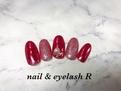 他にも多数サンプルございます!  #ピンクネイル #ミラーネイル  nail &eyelashRの