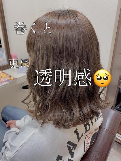 ✨✂︎☆♡【人気 】外国人風カラー&極艶トリートメント🌈
