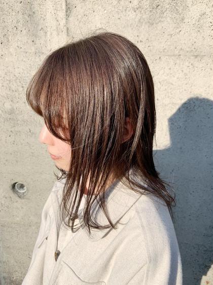 【人気No. 1】❤️透明感カラー+うる艶トリートメント❤️