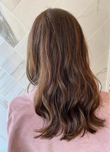 4月限定💕春のイメチェンに🥰️ダメージレス潤艶カラー➕髪の中から綺麗に!ミルボン3STEPTR➕ナノスチーム➕スパ