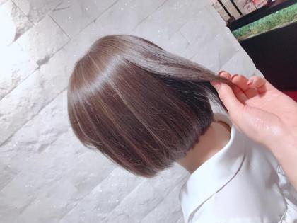 カット & 髪質改善ストレート & トリートメント