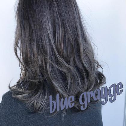 🌈初回限定🌈前髪カット+外国人風デザインカラー(ケアブリーチ)ハイライトetc+ムコタトリートメント