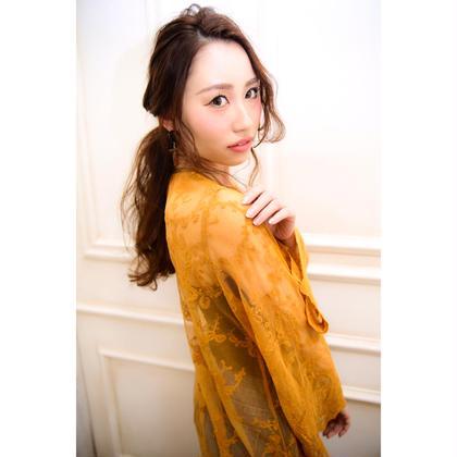 【簡単アレンジ】ゆるウェーブ×アンダーまとめ NYNY 松井山手店所属・打越裕樹のスタイル