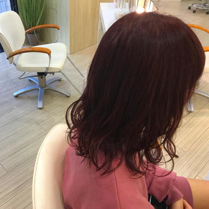 PERS hair design所属・戸崎渚絵のスタイル