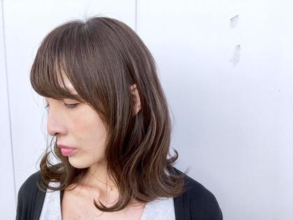 ⚡️8月限定⚡️前髪カット&前髪パーマ&超音波トリートメント※前髪パーマは縮毛矯正でも可◎