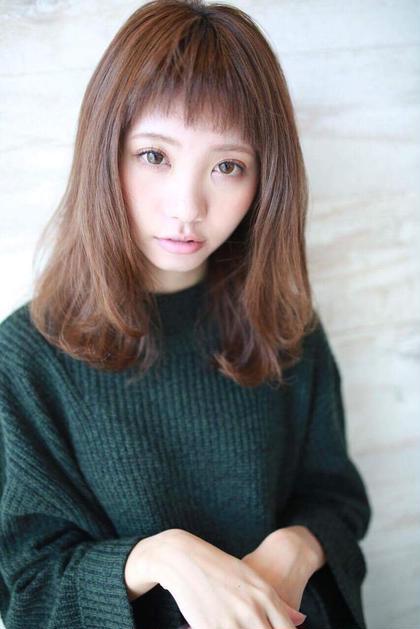 【平日限定♪♪】カット+シルクカラー+ミストトリートメント ¥6000