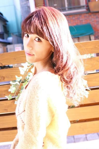 ピンクアッシュ 美容室Ailes所属・前田あきひろのスタイル
