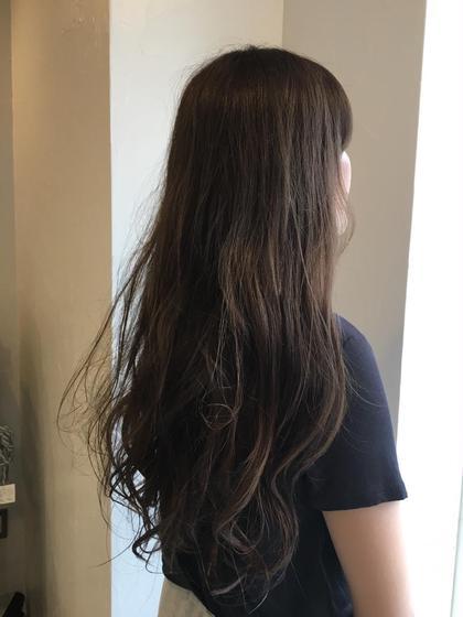 *髪質改善+お洒落な白髪染め+デザインカット