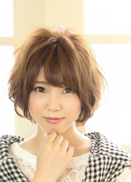【髪に優しく潤う】似合わせカット+コスメパーマ  ¥7000