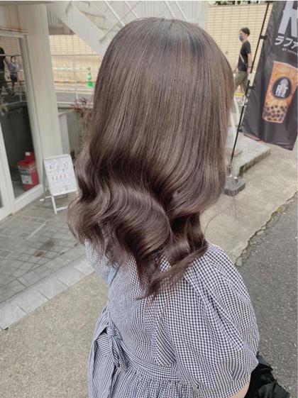 【✨9月minimo限定メニュー✨】潤艶カラー💍+似合わせカット+髪質改善トリートメント🖤