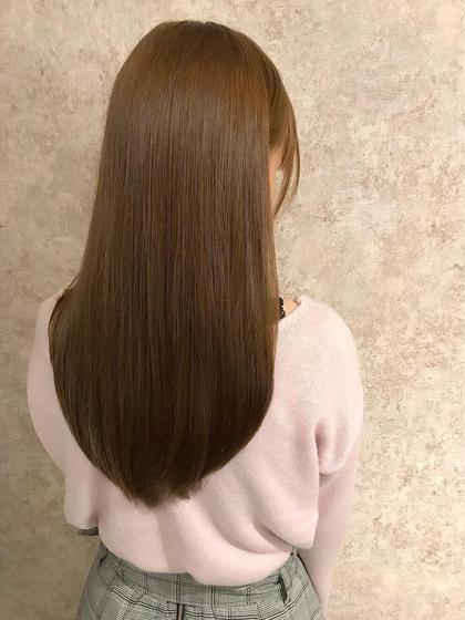 ダメージ99%カット👏弱酸性縮毛矯正&ベーストリートメント付き