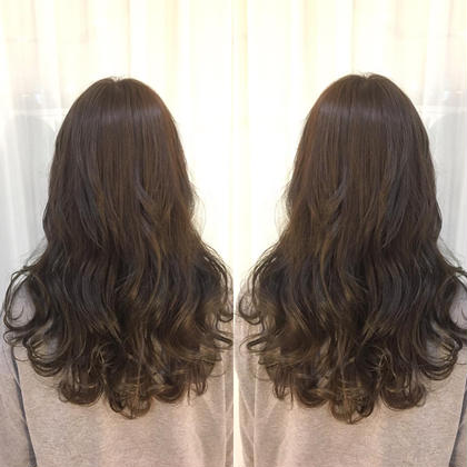 ⭐️透き通った綺麗な髪色に❣️ダブルカラー⭐️【アジュバントリートメント付】