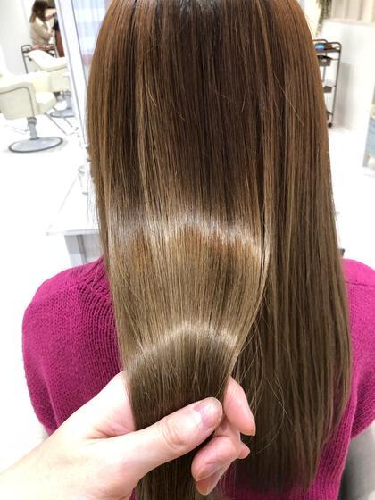【今話題の髪質改善】酸熱型ケラチントリートメント(シャンプーブロー込み)