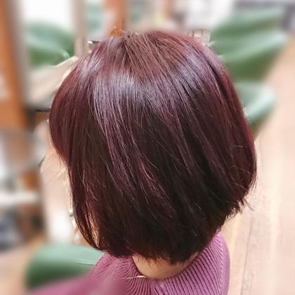 前髪カット&イルミナorアディクシーorTHROWカラー