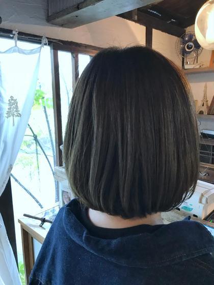 Wカラーで綺麗な発色と透明感を! HAIR&MAKE BILLOW所属・入本翼のスタイル