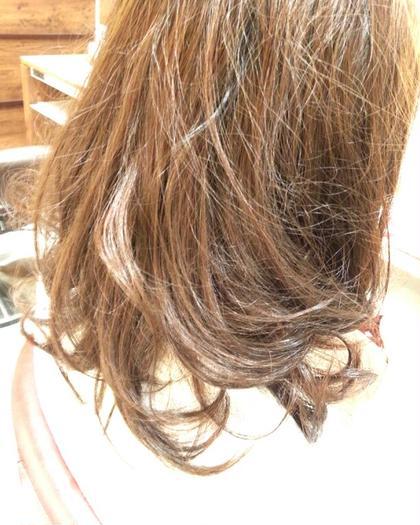 ベージュブラウン hair&makeEARTH佐世保早岐店所属・大浦竜生のスタイル