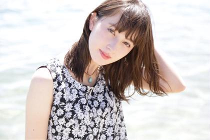 夏感MAX  ナチュラルミディアムスタイル HAPPINESS心斎橋所属・竹村友喜のスタイル