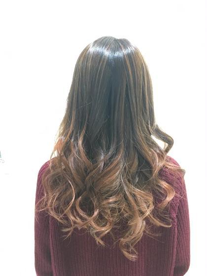 毛先にアクセントを(๑˃̵ᴗ˂̵)❗️ HAIR STUDIO JAP所属・給下麗のスタイル