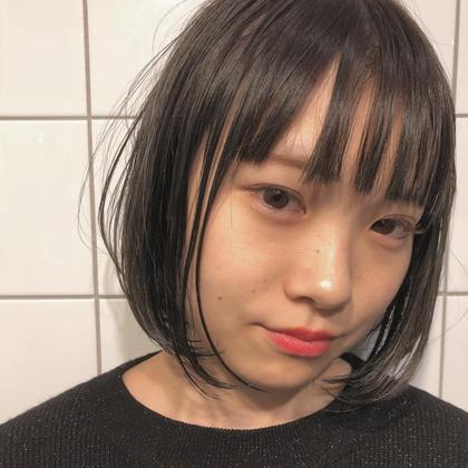 地毛風カラー透明感プラス LANDランド所属・小顔カット❤️秋田将吾のスタイル