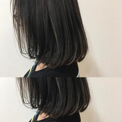 アッシュ系が得意です♡ BLESS所属・内田奈菜のスタイル