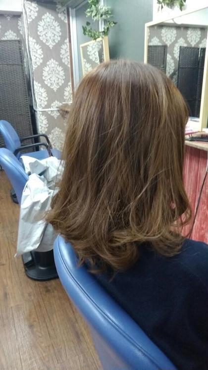 hair resort salju津田沼所属のmasaディレクターのヘアカタログ