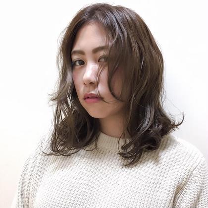 my work.  リップラインの前髪がおすすめ FITS plus所属・進藤琢哉のスタイル