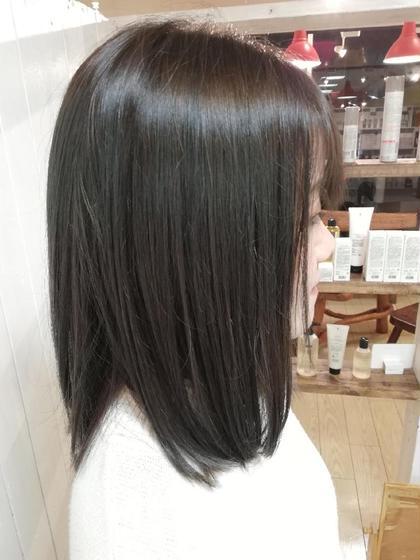 美髪チャージで髪が復活!髪の芯から艶が甦ります! タナカマキコのスタイル