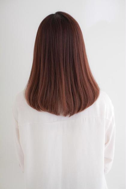 カット & 前髪ストレート&トリートメント