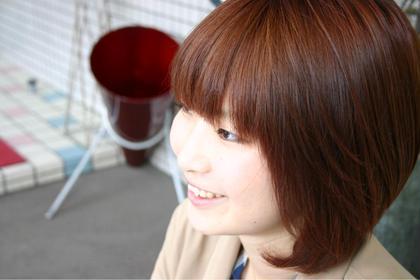 ツヤと暖かさを感じるローズカラー! angle hair make所属・辻川一真のスタイル