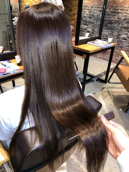 ◯【髪質改善とカラー同時に体験できる】oggi otto 6stepトリートメント&イルミナ、アディクシーカラー