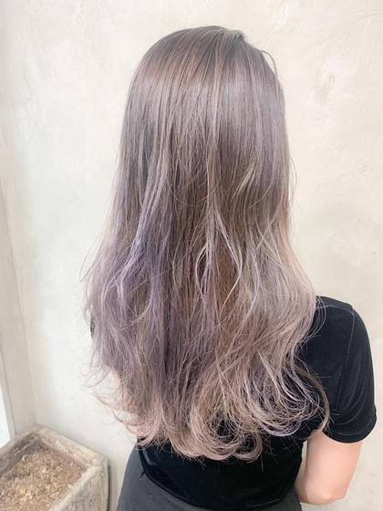 🧡理想の髪色になる🧡外国人風Wカラー&aujuaトリートメント