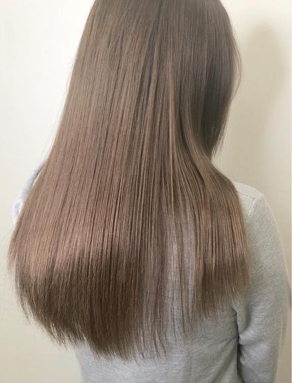 ❤伸ばし中の方オススメ❤メンテナンスカット+毛髪補修 髪質改善トリートメント¥5500  スタイルチェンジ+¥2200