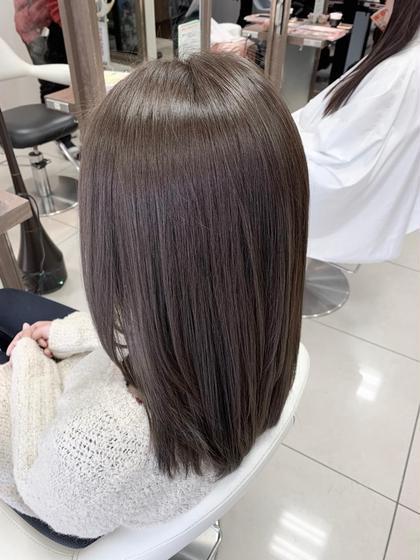 ✨ダメージレス髪質改善縮毛矯正&プラチナコラーゲントリートメント✨