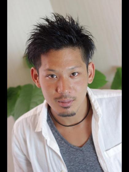 短髪メンズ Hearts Standard所属・吉田カズヤのスタイル