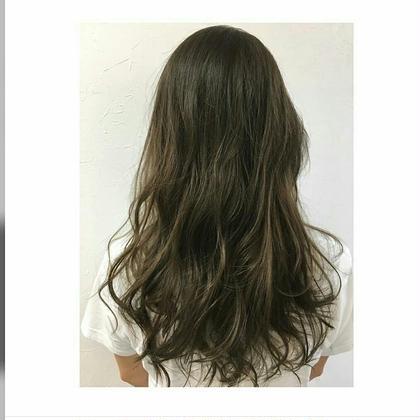 緩く柔らかく魅せるカラーと、パーマ Agu hair rio 本川越店所属・阿部拓磨のスタイル