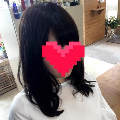 ゆるふわパーマ salon de an ally所属・西田佳奈子のスタイル