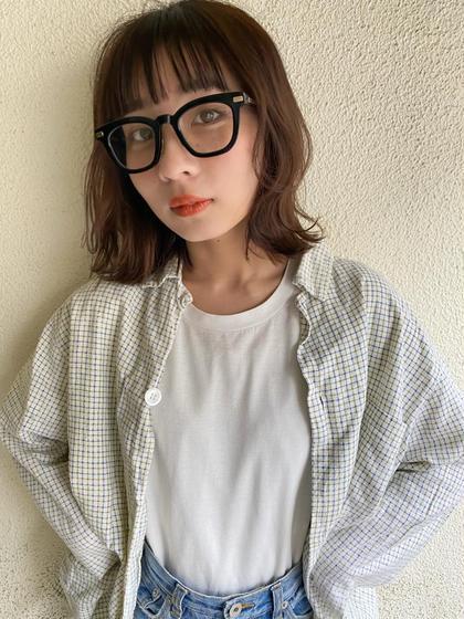 【Pia】前髪カット+MILBON2ステップトリートメント✨
