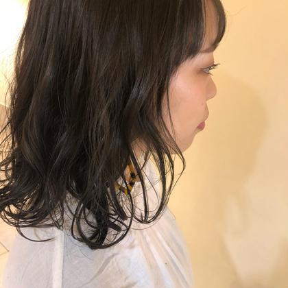 【6月限定 】❣️透明感トーンダウンカラー+シルクトリートメント❣️