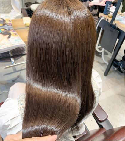 カット & カラー &髪質改善🌿縮毛矯正