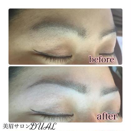 横顔がこんなに違う( › ·̮ ‹ )☆! 眉毛サロンDUAL 恵比寿所属・松本ゆう子のスタイル