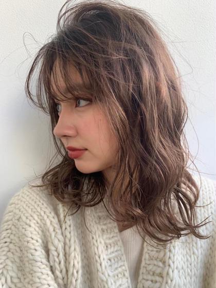 【大人気】前髪カット+リタッチorフルカラー