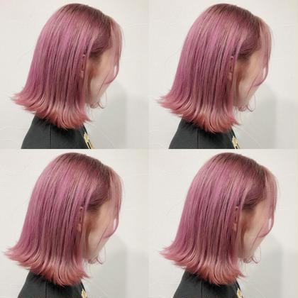 カラー ショート pail pink