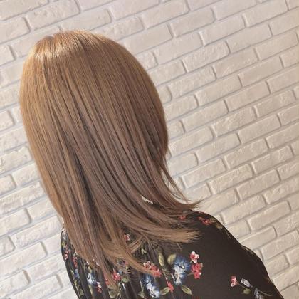 💎化粧品登録されている安全な薬💎 ❤︎艶カラー➕縮毛矯正➕毛先枝毛カット