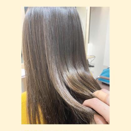 ☘5月限定❗️【ダメージケアカット×髪質改善ストレート×ハホニコトリートメント】✨