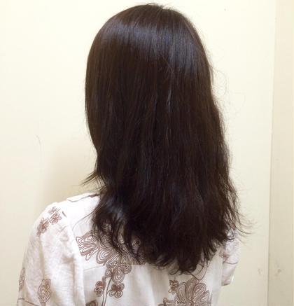 白髪染め! しっかり白髪も染めつつ 色も楽しんでます✨ MAGNET HAIR 段原店所属・宮原諒馬のスタイル